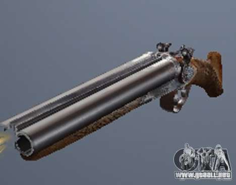 Un conjunto de armas de un acosador para GTA San Andreas tercera pantalla