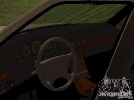 Mercedes-Benz 600SEL W140 para la visión correcta GTA San Andreas