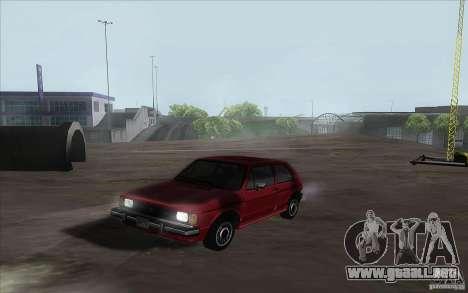 Volkswagen Rabbit 1986 para GTA San Andreas left
