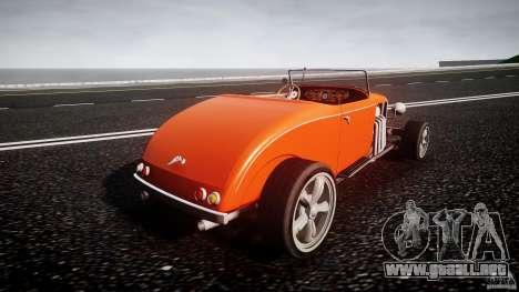 Hot Rod para GTA 4 vista lateral