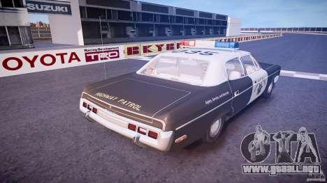 AMC Matador CHP [ELS] para GTA 4 vista superior