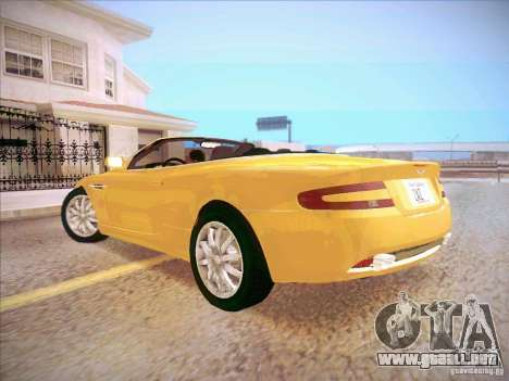 Aston Martin DB9 Volante v.1.0 para GTA San Andreas left
