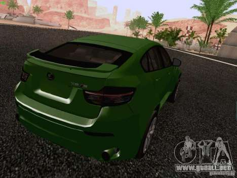 BMW X6 LT para GTA San Andreas left