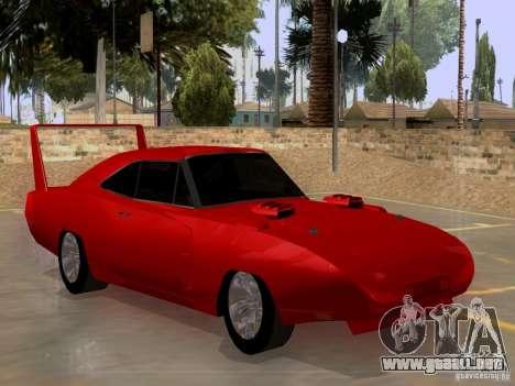 Dodge Charger Daytona 440 para la visión correcta GTA San Andreas
