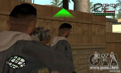 Franchi Special Purpose Automatic Shotgun 12 para GTA San Andreas tercera pantalla