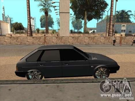 Ajuste ligero VAZ 21093i para la visión correcta GTA San Andreas