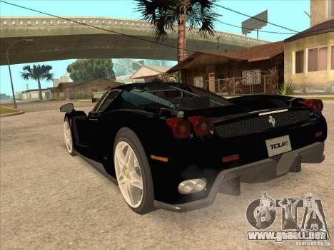 Ferrari Enzo 2010 para visión interna GTA San Andreas