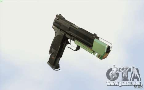 Low Chrome Weapon Pack para GTA San Andreas
