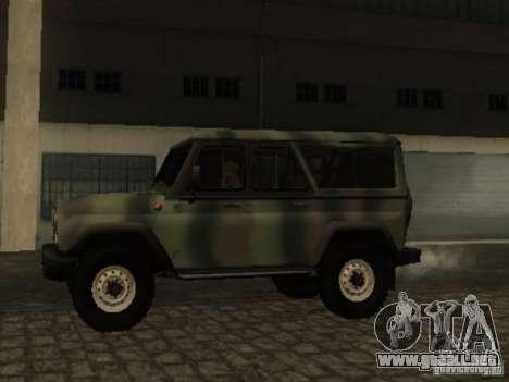 UAZ-3153 para GTA San Andreas left