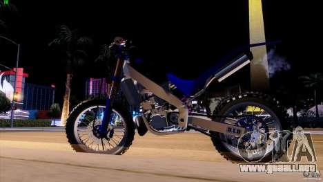 Honda CR 250 Stunt para la visión correcta GTA San Andreas