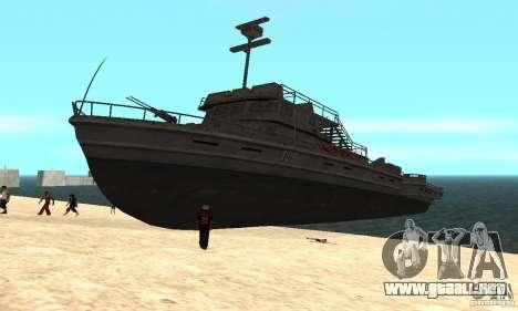 Barco para GTA San Andreas