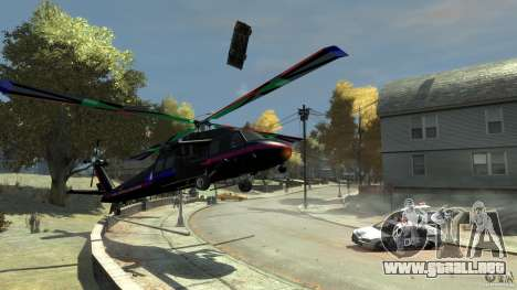 Wafflecat17s Annihilator para GTA 4 Vista posterior izquierda