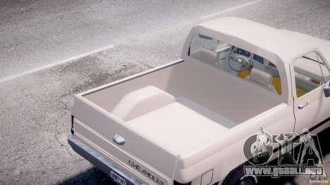 Chevrolet Blazer K5 Stock para GTA 4