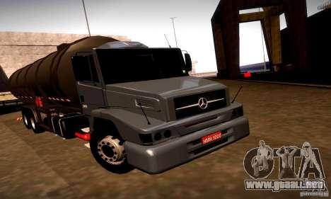 Mercedes-Benz L1620 Tanque para GTA San Andreas left
