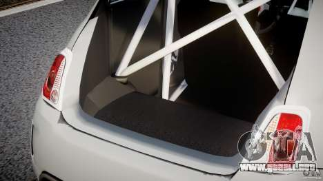 Fiat 500 Abarth para GTA 4 interior