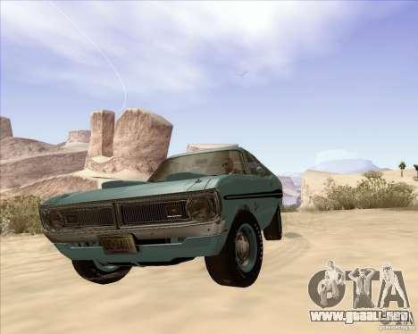 Dodge Demon 1971 para la visión correcta GTA San Andreas