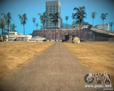 New textures beach of Santa Maria para GTA San Andreas décimo de pantalla