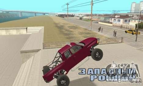 Dodge Ram Prerunner para visión interna GTA San Andreas