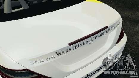 Mercedes-Benz SLK 2012 v1.0 [RIV] para GTA 4 vista desde abajo