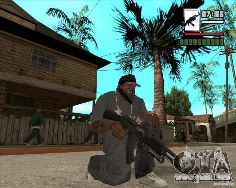 AK47 with GP-30 para GTA San Andreas tercera pantalla