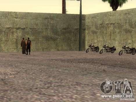 La escuela realista motociclistas v1.0 para GTA San Andreas quinta pantalla