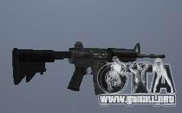 M4 para GTA San Andreas segunda pantalla