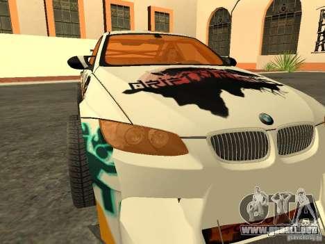 BMW M3 E92 DriftRoots para la visión correcta GTA San Andreas