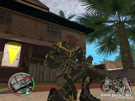 Colección de armas de Crysis 2 para GTA San Andreas séptima pantalla
