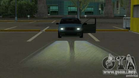 Faros halógenos para GTA San Andreas tercera pantalla