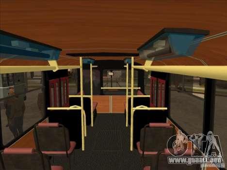 LIAZ 677p para visión interna GTA San Andreas
