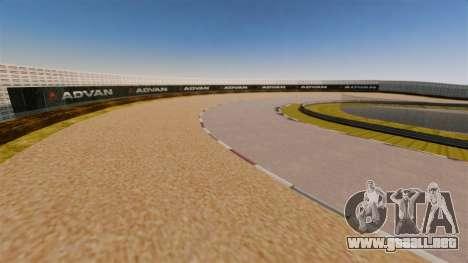 Tsukuba Circuit v3.0 para GTA 4 tercera pantalla