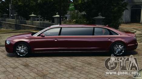 Audi A8 Limo v1.2 para GTA 4 left