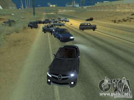Campo de fuerza para GTA San Andreas segunda pantalla