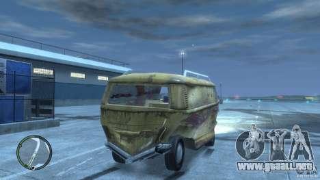 VW Transporter T2 para GTA 4 vista superior