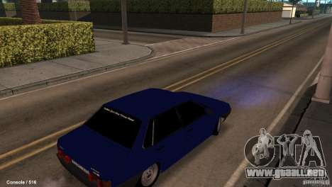 BAZ 21099 para la visión correcta GTA San Andreas