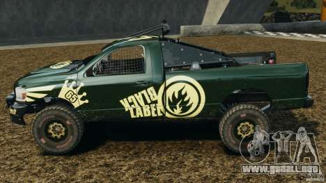 Dodge Power Wagon para GTA 4 left