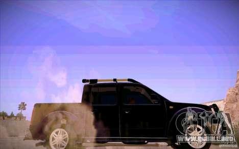 Nissan Fronter para vista inferior GTA San Andreas