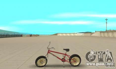 BMX Long 2 para GTA San Andreas left