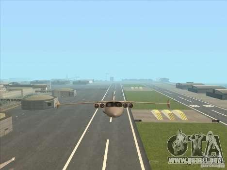 Cargo Shamal para vista lateral GTA San Andreas
