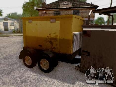 Trailer Generator para la vista superior GTA San Andreas