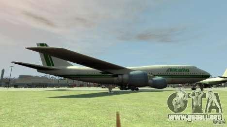 Alitalia para GTA 4 left