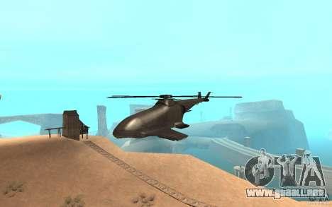 Scout Drone from BO2 para GTA San Andreas