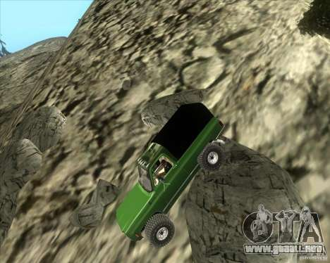 Chevrolet K5 Ute Rock Crawler para GTA San Andreas