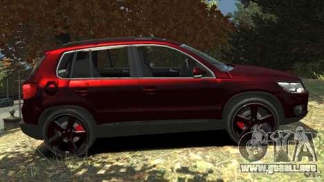 Volkswagen Tiguan 2012 para GTA 4 left