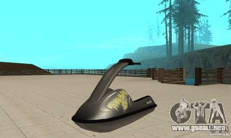 Moto de agua para la visión correcta GTA San Andreas
