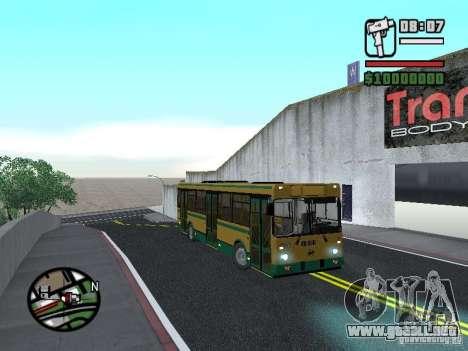 LIAZ 5283.01 para la visión correcta GTA San Andreas