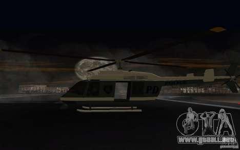 GTA IV Police Maverick para la visión correcta GTA San Andreas