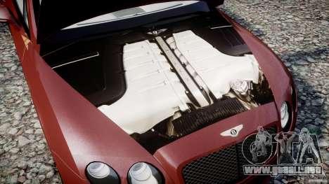 Bentley Continental SS v2.1 para GTA 4 vista interior