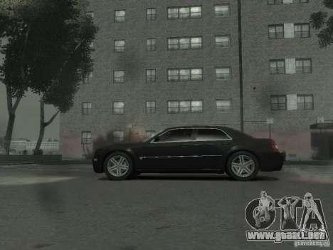 Chrysler 300C para GTA 4 Vista posterior izquierda