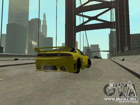 Mitsubishi 3000GT para visión interna GTA San Andreas